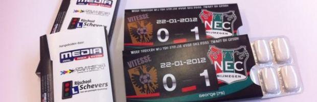 Afbeelding voor Speciale Vitesse-NEC kauwgom te koop