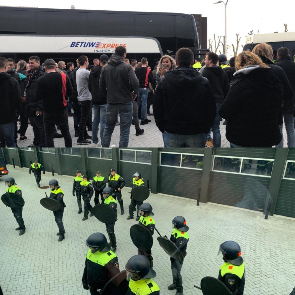 Afbeelding voor Maastricht: Voetbalsupporters zijn vogelvrij