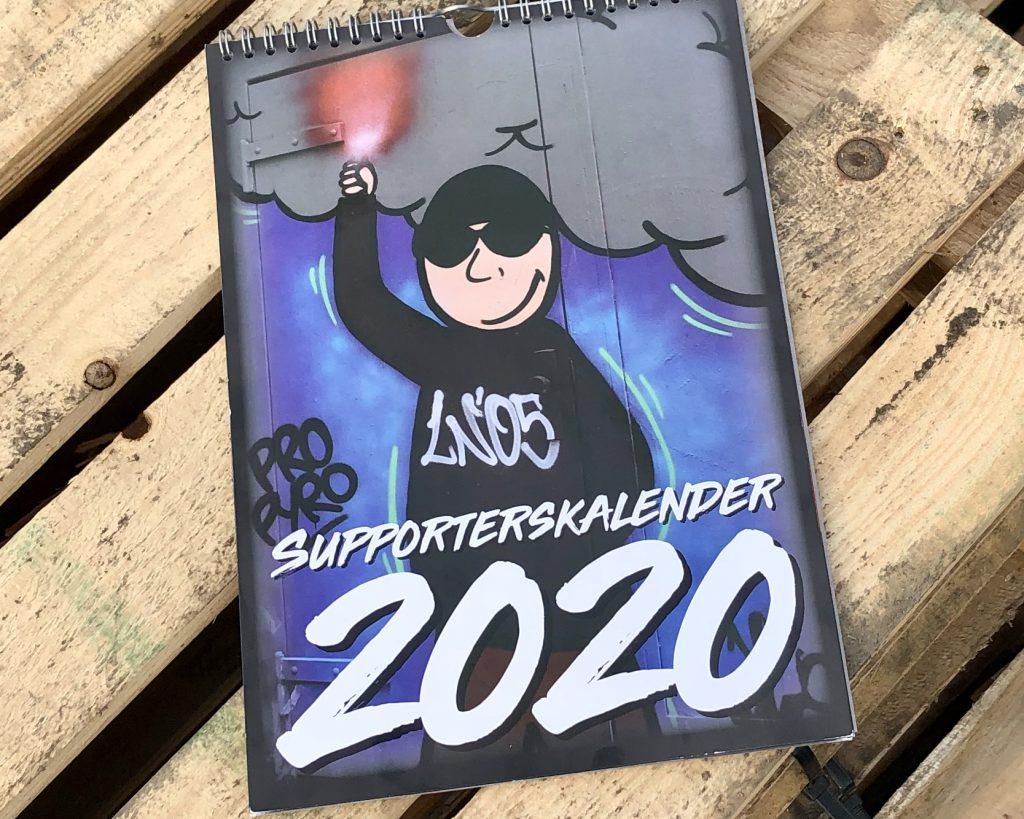 Afbeelding voor SV en Legio lanceren Supporterskalender 2020
