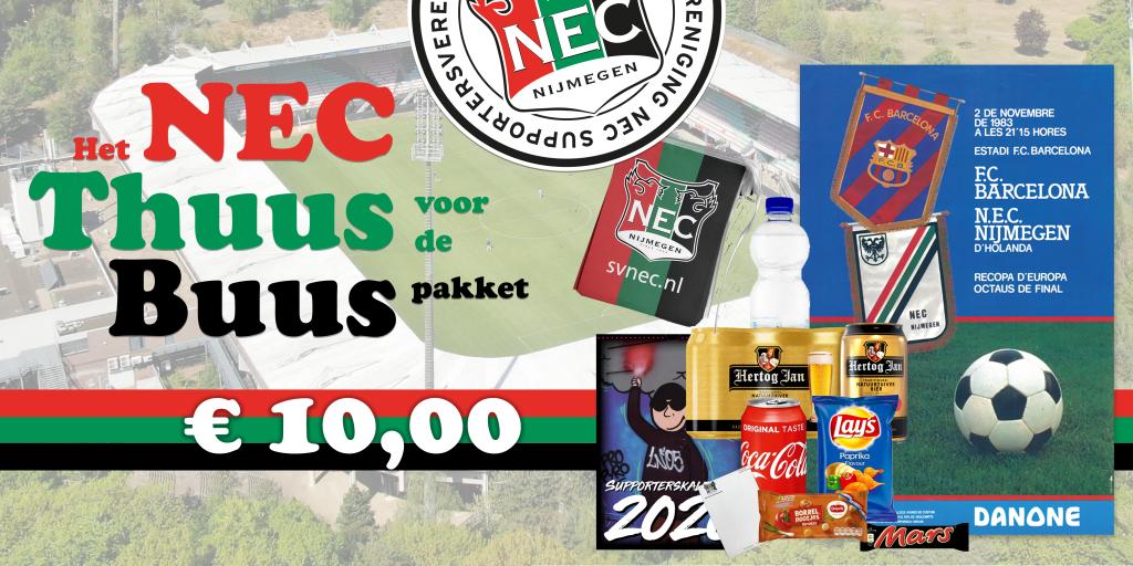 Afbeelding voor Het NEC 'Thuus voor de Buus' pakket!
