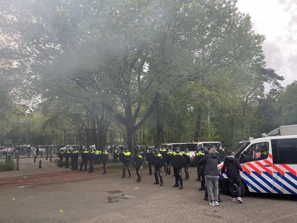 Afbeelding voor SV kwaad en verbolgen over politieoptreden