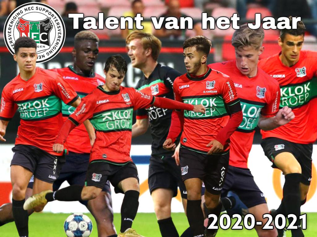 Afbeelding voor Talent van het Jaar 2020-2021