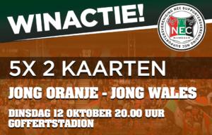 Thumbnail for Winactie Jong Oranje – Jong Wales